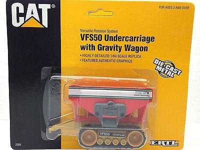 1/64 Ertl Caterpillar Vfs50 W/ Gravity Wagon