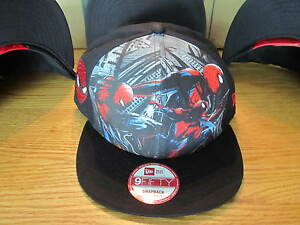 The-Amazing-Spider-Man-New-Era-Hat-Snapback-NWT