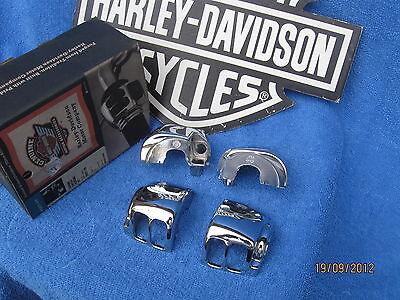 Harley Davidson Chrome Xl Sportster Heritage Dyna Fatboy Switch Housings
