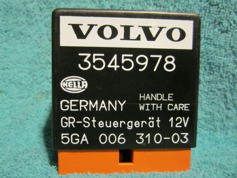 SHIPS SAME DAY! Volvo 3545978 Cruise Control Relay 850 960 C70 S70 S90 V70 V70XC