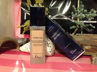 Dior Diorskin Forever Flawless Perfection Wear Makeup # 030 MEDIUM BEIGE NIB