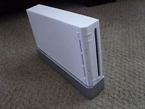 Nintendo Wii WHITE Console Only REPLACEMENT (PAL) - GOOD CONDITION