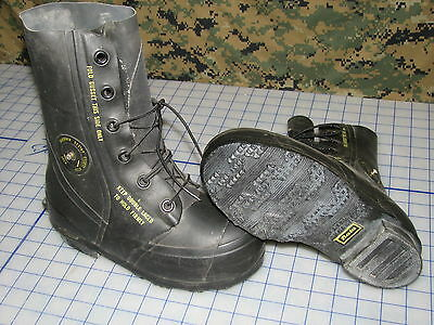 Mickey Mouse Boots Black Bata 5 R Rubber W/valve Military Extreme Cold Weather