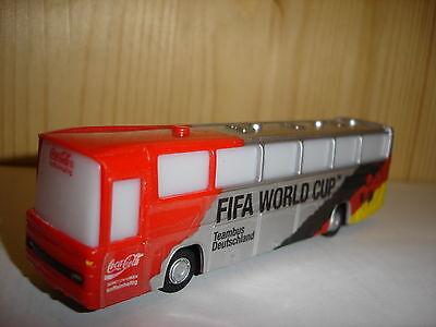 COCA COLA >> TEAMBUS MANNSCHAFTSBUS DEUTSCHLAND FIFA WM 1990 << BUS