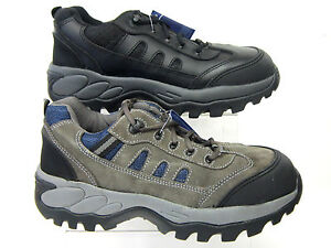 mens totec sport lace up safety shoes steel toe cap 2980