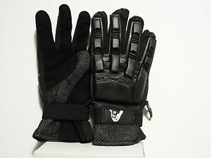 Brand New Pair Of Full Fingered Armoured Gloves Small (Paintball/Airsoft)