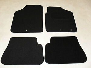 Kia-Picanto-2010-on-Fully-Tailored-Car-Mats-in-Black