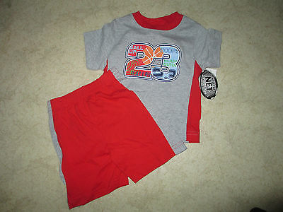 Outfit Shirt Shorts Basketball Boys Into The Net Sz 3t