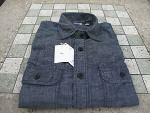 UNIQLO-Chambray-Dark-Navy-Light-Denim-Jean-UNIQUILO-Shirt-H-M-H-and-M-Supreme