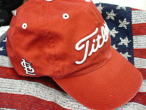 NEW-Titleist-St-Louis-Cardinals-RED-MLB-Baseball-Golf-Cap-Hat
