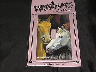 Art Switchplates Horses Single Toggle Electricity Hand Crafted Ranch