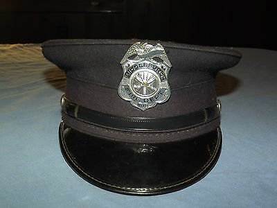 VINTAGE OLD SCHOHARIE FIREMAN  MIDDLEBURGH NY FIRE DEPARTMENT #2 HAT CAP