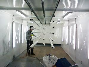 Cartridge Spray Booth