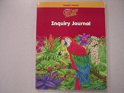 Sra Open Court Reading Level 6 Student Inquiry Journal Isbn 0075695693