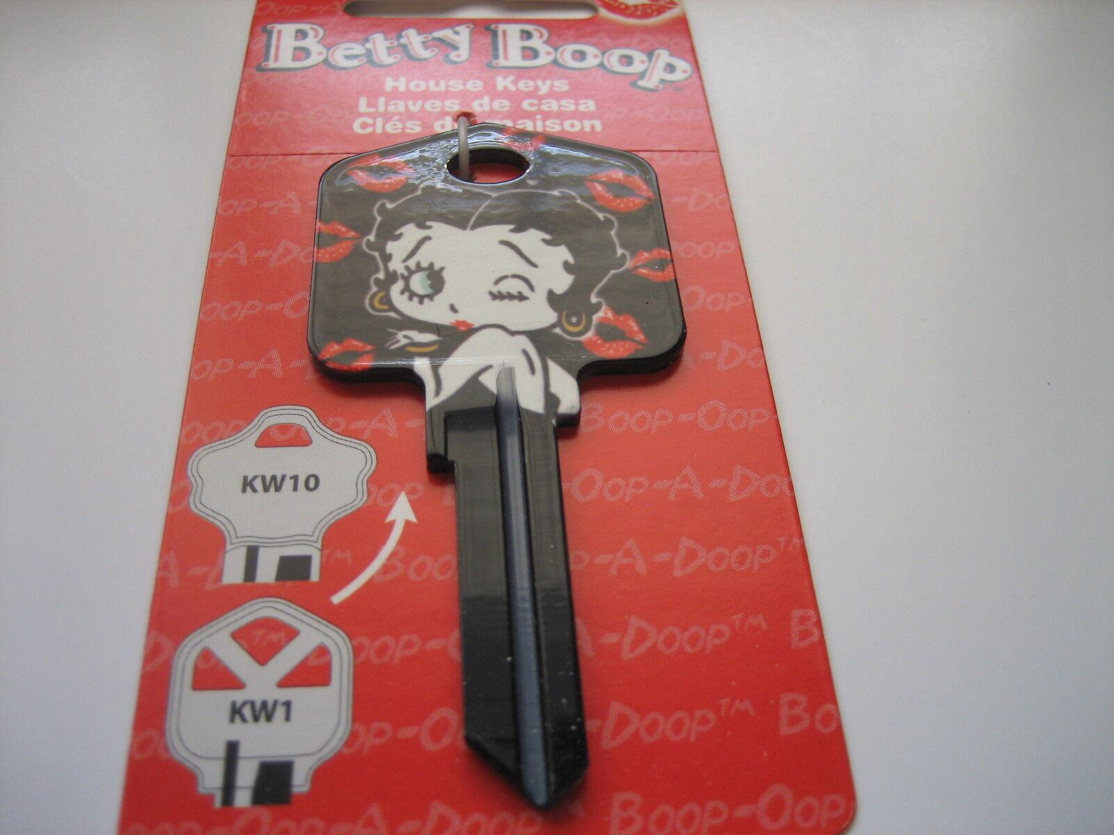 Betty Boop betty Boop & Kisses Key Kwikset Kw1 House Key Blank /