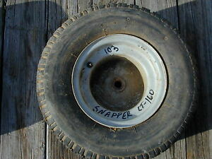 103 Snapper Lt 160 Riding Lawn Mower Rear Tire Wheel 18 X