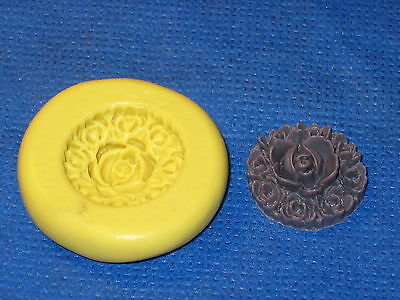 Flower Silicone Push Mold #638 For Resin Clay Candy Chocolate Craft