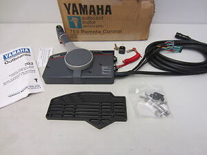 Yamaha-New-OEM-Side-Mount-Remote-Control-703-48207-17-10-703-48207-1A-10-Shifter