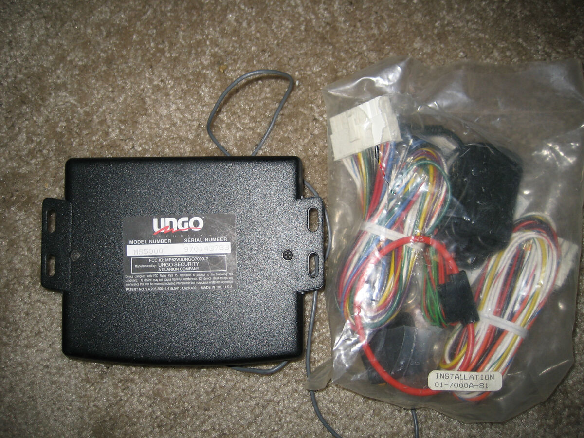 Pleasing Ungo By Clarion Car Alarm Model Ms5000 On Popscreen Wiring Digital Resources Biosshebarightsorg