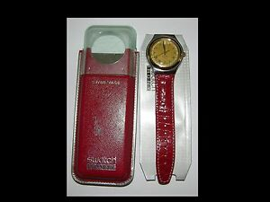 SWATCH-IRONY-Mod-YGS-402-CROWNED-HEAD-1995-Nuovo