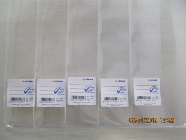 HERMA Transparente Buchhüllen Buchschoner Buchumschläge Buchumschlag Buchhülle