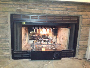 Vented Gas Log Fireplace Heat Exchanger Heat Recovery