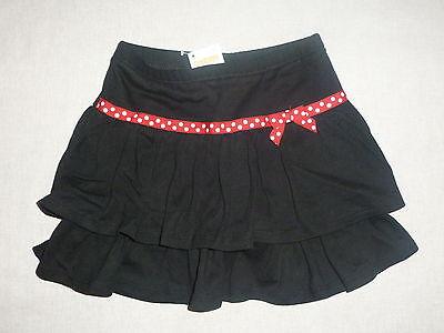 Gymboree Polka Dot Ladybug Black Red Polka Dot Ribbon Bow Tiered Skirt Skort