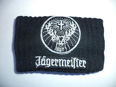 NEW Jagermeister Wristband Jager Logo Bartender Sweatband Wrist Band FREE SHIP