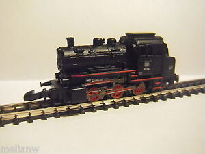 NEW MARKLIN Z GAUGE GERMAN RAILWAY BLACK STEAM LOCOMOTIVE/LOCO ENGINE/TRAIN
