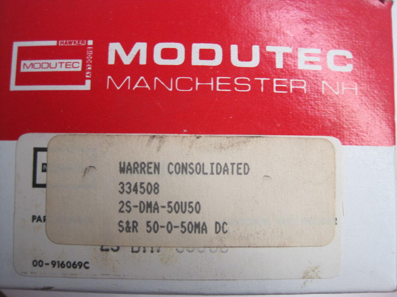 Modutec 2s-dma-50u50 Panel Meter 2sdma50u50
