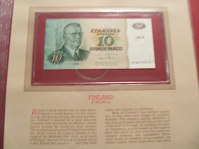 Most Treasured Banknotes Finland 10 Markkaa 1980 P 112a.15 UNC Alenius & Makinen