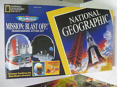 Micro Machines Mission: Blast Off Transforming Action Set National Geographic