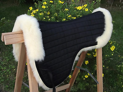 Lammfell Sattelpad Sattelkissen Springkissen + tiefe lange Schulter Schulter online kaufen