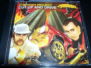 The Symphony Project Cut Up And Drive Rare Aussie Hip Hop Obese Records CD