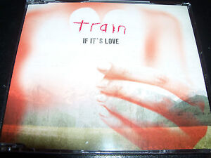 Train-If-It-s-Love-Rare-Australian-2-Track-CD-Single-NEW