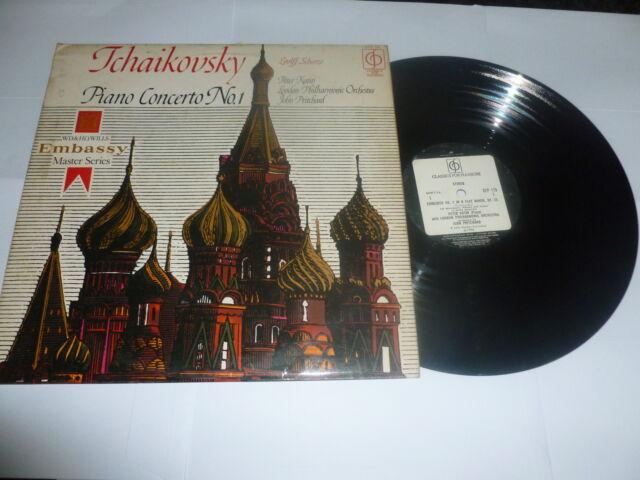 TCHAIKOVSKY - Piano Concerto No.1 in B-flat minor, Op. 23 - 1970 UK Vinyl LP