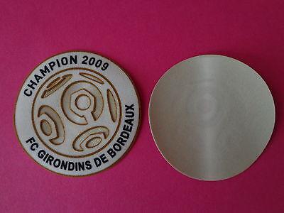 Patch LFP Champion officiel SENSCILIA LEXTRA 2009 Bordeaux
