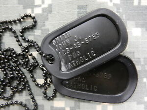 Black-US-Military-Dog-Tag-Set-with-silencers-Spec-Ops-CIA-SWAT