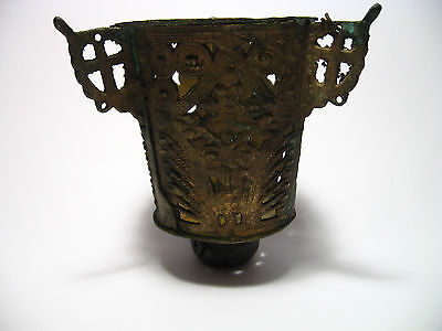 Vintage Magnificent Bronze Icon-Lamp  18-19th  Century #5l on Rummage