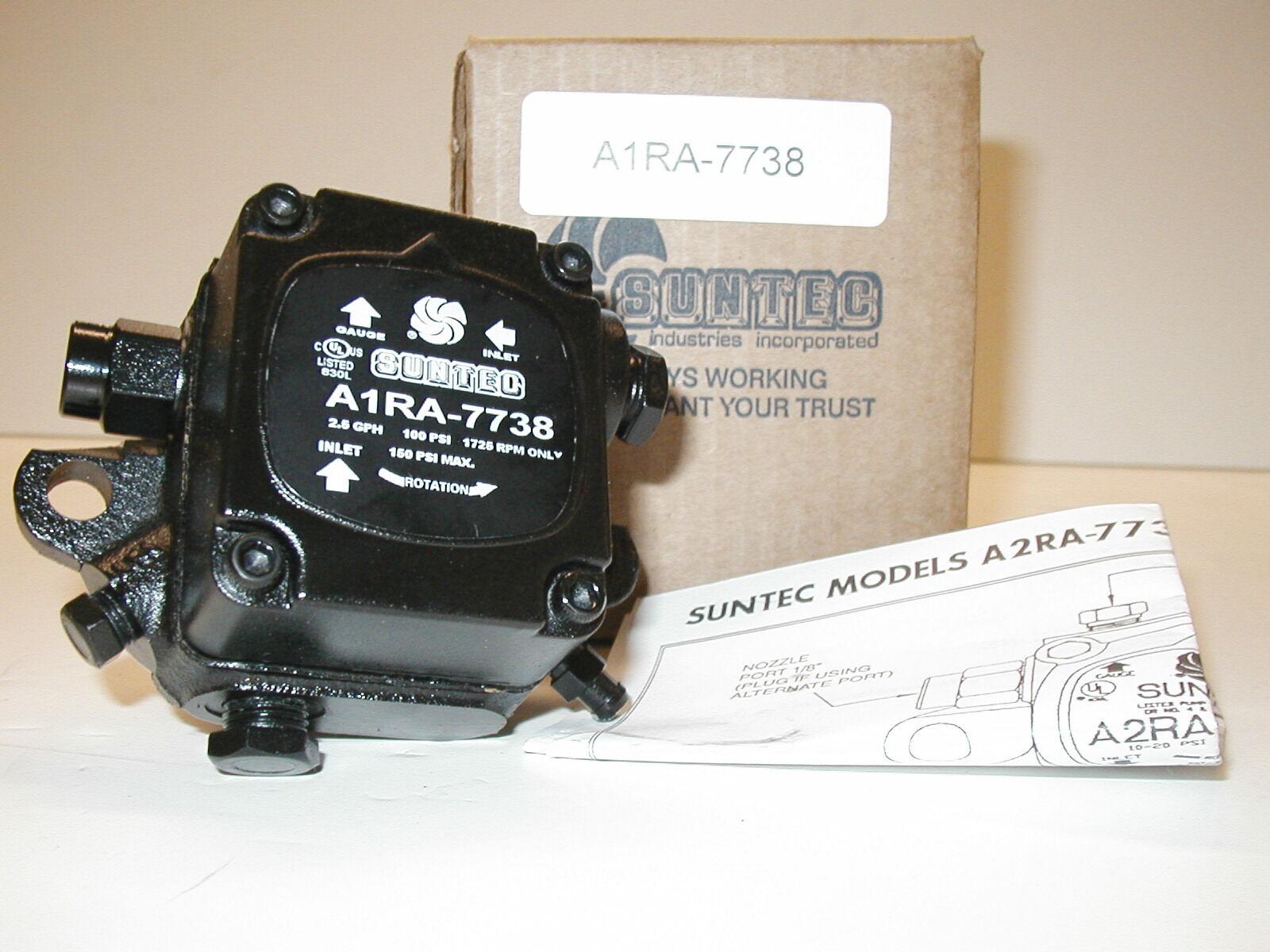 Suntec Or Sundstrand A1ra7738 One Year Warranty Waste Oil Heater Burner Pump