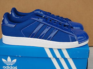 Adidas Superstar LTO Royal White Men Shell NIB 2010 Size 10.5