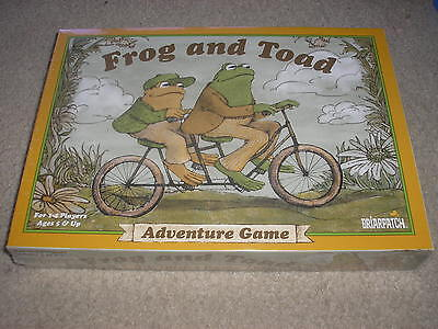 Factory Sealed Frog And Toad Adventure Game Briarpatch