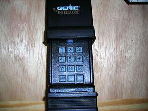 genie garage door opener wireless keypad acsdg ebay. Black Bedroom Furniture Sets. Home Design Ideas