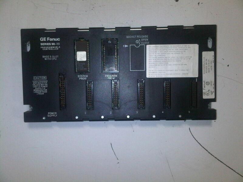 GE FANUC PROGRAMMABLE CONTROLLER     1C693CPU311H