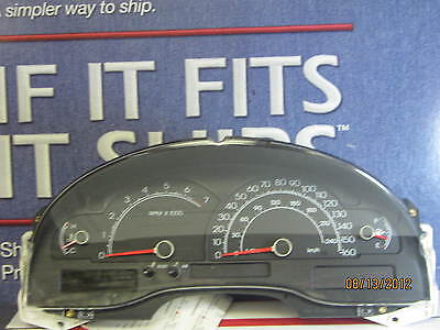 (CL594) 04 05 LINCOLN LS 6CYL 15K SPEEDOMETER INSTRUMENT CLUSTER