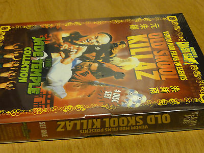 Jade Dagger Ninja, The Silver Spear, Young Hero Of Shaolin 1 & 2 (4-dvds)