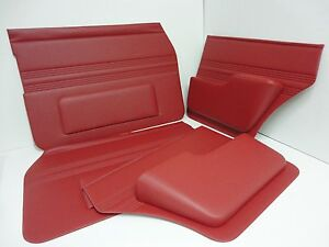JAGUAR S TYPE SET OF DOOR PANELS INC REAR ARMRESTS