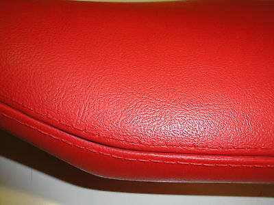 Red Vinyl Dash Pad with hardware 1955-1956 Chevrolet