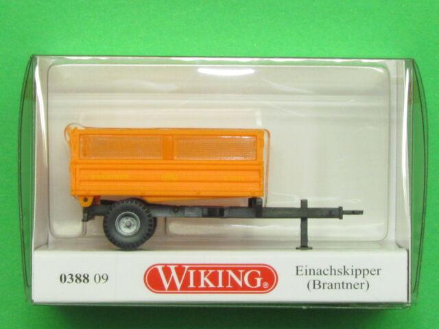 1:87 Wiking 038809 Einachskipper Brantner Blitzversand per DHL-Paket