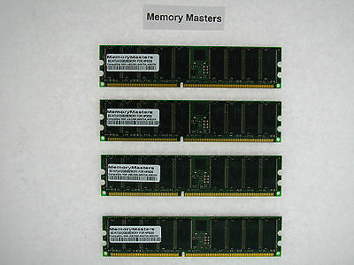 8GB  (4x2GB) PC2100 DDR-266 Registered Memory Kit for HP - Pc 2100 Ddr Memory Kit
